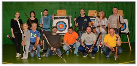 Bogensport Jahresausklang mit Freunden vom  EAT Bogensport