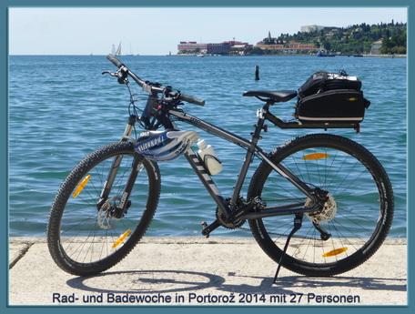 Rad-und Badewoche in Portorož
