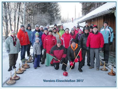Vereins-Eisschießen der Veitscher Naturfreunde